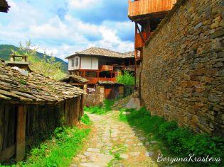 kovachevica, rodopi, planina, selo