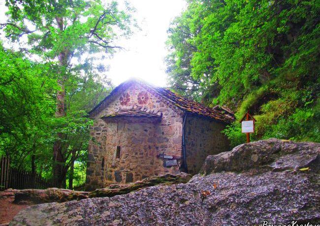 Рилски манастир, Иван Рилски, пещера