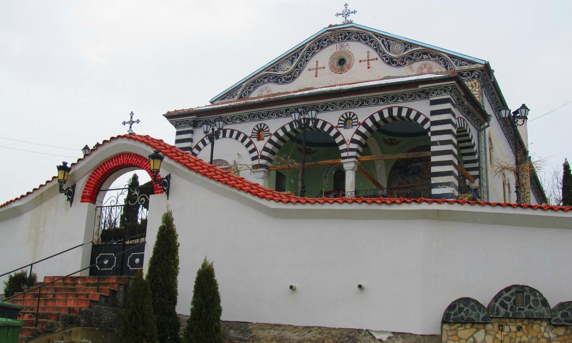 Сапарево, църква, Рилски манастир