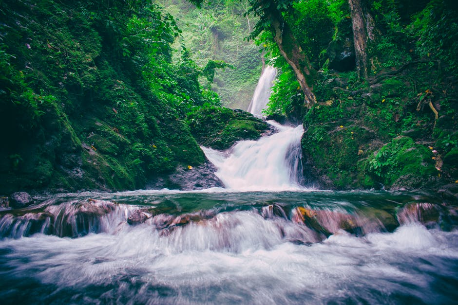 водопад, стихотворение, блог