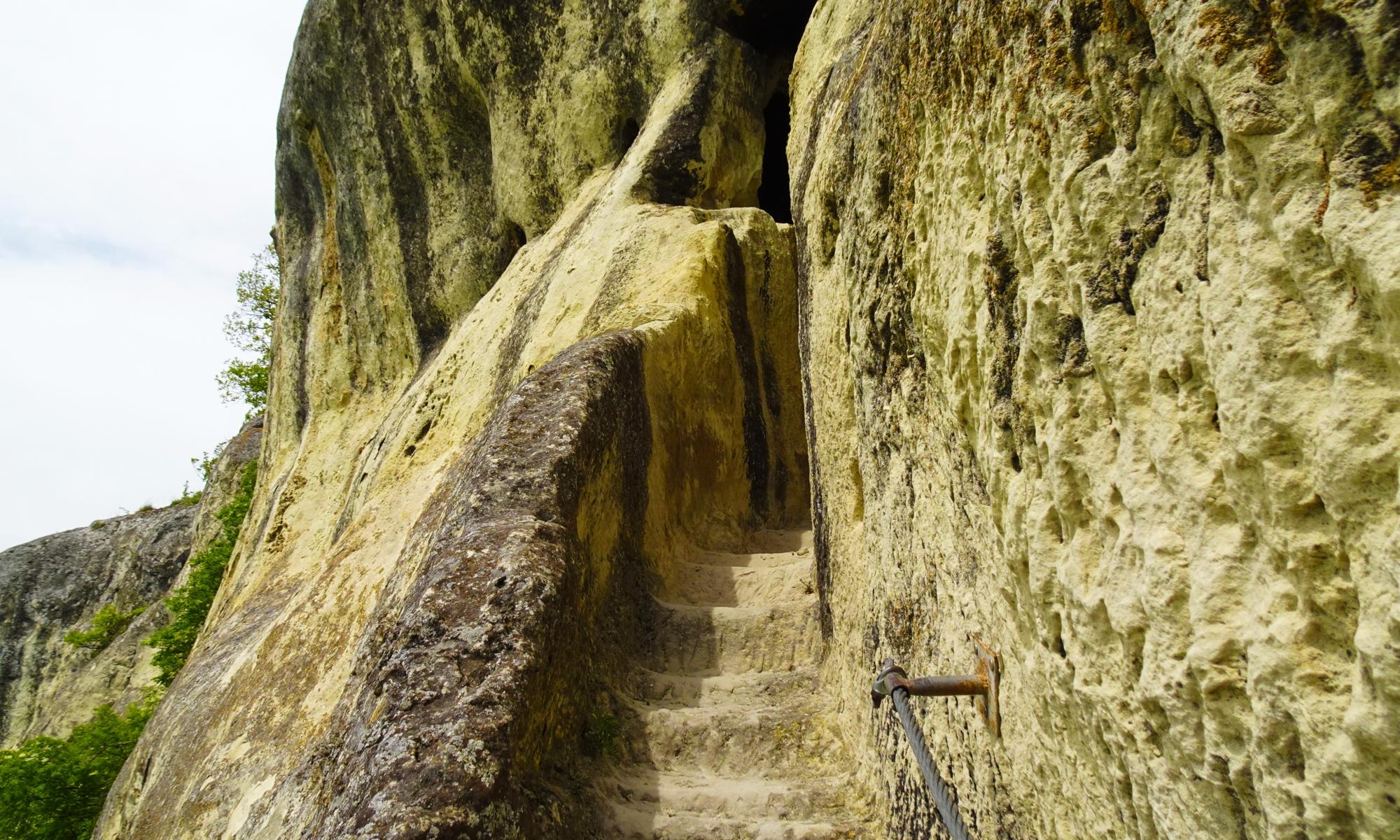 Ханкурмски скален манастир, Осмар, исихасти, скални манастири